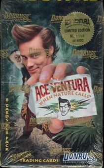 Ace Ventura: When Nature Calls Hobby Box (1995 Donruss)