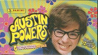 Austin Powers Photocards Hobby Box (1999 Panini)
