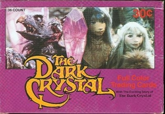 Dark Crystal Wax Box (1982 Donruss)