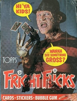 Fright Flicks Wax Box (1988 Topps)