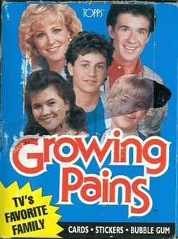 Growing Pains Trading Cards Wax Box (1988 Topps) (Ex Box, Mint Packs)