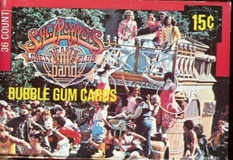 Sgt. Pepper's Lonely Hearts Club Band Wax Box (1978 Donruss)