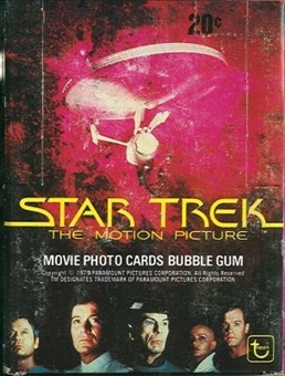 Star Trek: The Motion Picture Wax Box (1979 Topps)