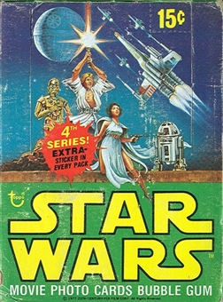 Star Wars 4th Series Wax Box (1977-78 Topps)