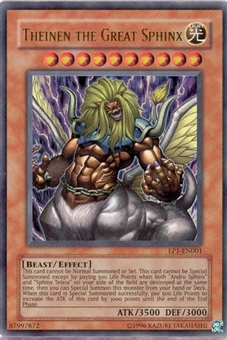 Yu-Gi-Oh Promo Single Theinen the Great Sphinx Ultra Rare (EP1-EN001)
