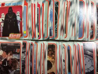 1980 Topps Star Wars The Empire Strikes Back Series 1 Complete Trading Card Set