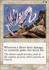 Magic the Gathering Time Spiral Single Essence Sliver UNPLAYED (NM/MT)