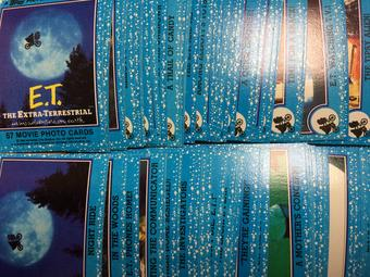 1982 Topps E.T. The Extra Terrestrial Complete Trading Card Set