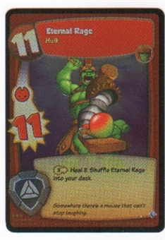 Marvel Super Hero Squad Foundation Single Eternal Rage Rare