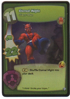 Marvel Super Hero Squad Foundation Single Eternal Might Rare