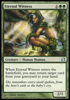 Magic the Gathering Modern Masters Single Eternal Witness FOIL - NEAR MINT (NM)