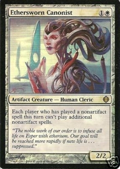 Magic the Gathering Shards of Alara Single Ethersworn Canonist Foil