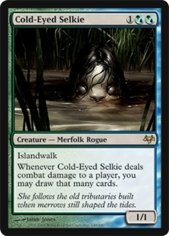 Magic the Gathering Eventide Single Cold-Eyed Selkie FOIL