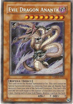 Yu-Gi-Oh Premium Pack 2 Single Evil Dragon Ananta Secret Rare