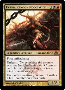 Magic the Gathering Dragon's Maze Single Exava, Rakdos Blood Witch - NEAR MINT (NM)