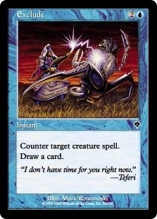 Magic the Gathering Invasion Single Exclude Foil