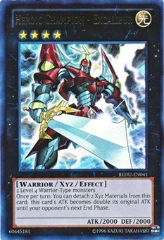 Yu-Gi-Oh Return of the Duelist Single Heroic Champion - Excalibur Ultra Rare