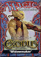 Magic the Gathering Exodus Widowmaker Precon Theme Deck