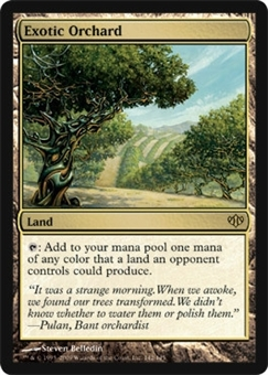 Magic the Gathering Conflux Single Exotic Orchard - NEAR MINT (NM)