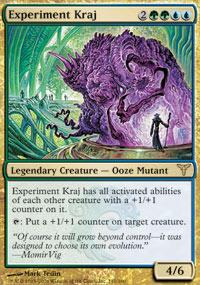 Magic the Gathering Dissension Single Experiment Kraj UNPLAYED (NM/MT)