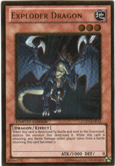 Yu-Gi-Oh Gold Series 3 Single Exploder Dragon (GLD3-EN012)