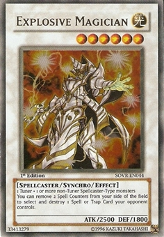 Yu-Gi-Oh Stardust Overdrive Single Explosive Magician Ultimate Rare