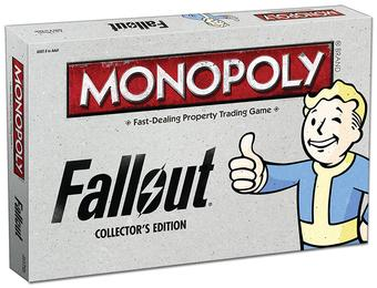 Monopoly: Fallout Collector's Edition (USAopoly)