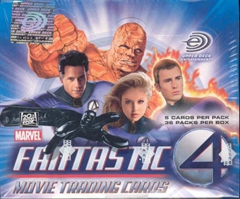 Fantastic Four The Movie Hobby Box (2005 Upper Deck)