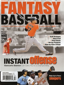 2015 Beckett Fantasy Baseball Guide