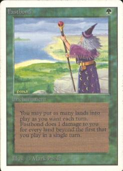 Magic the Gathering Unlimited Single Fastbond - SLIGHT PLAY (SP)