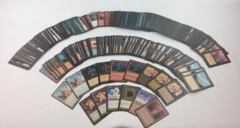 Magic the Gathering Foreign Black Border FBB ~350 Card Lot - Japanese Korean German