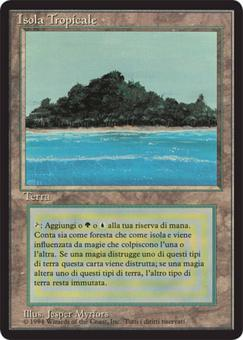 Magic the Gathering 3rd Ed (FBB) Single Tropical Island (Italian) - NEAR MINT (NM)