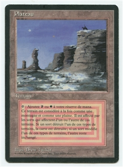 Magic the Gathering 3rd Ed. (Revised) French FBB Single Plateau - MODERATE PLAY (MP)