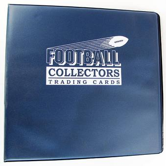 "Ultra Pro 3"" Navy Football Card Collectors Album"