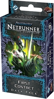 Android Netrunner LCG: First Contact Data Pack (FFG)