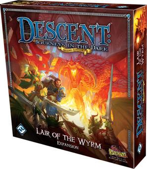 Descent 2nd Edition: Lair of the Wyrm Expansion (FFG)