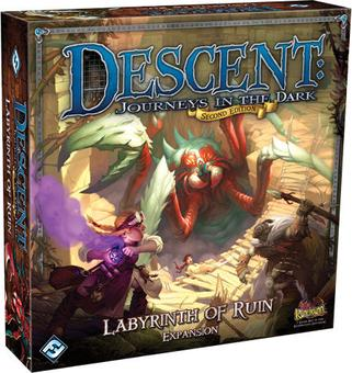 Descent 2nd Edition: Labyrinth of Ruin Expansion (FFG)