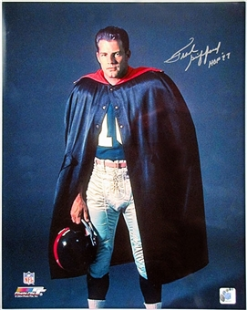 Frank Gifford Autographed New York Giants 16x20 Photo