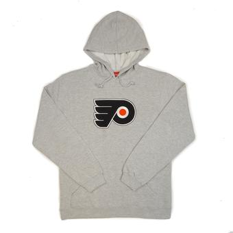 Philadelphia Flyers Reebok Grey Playbook Fleece Hoodie (Adult S)