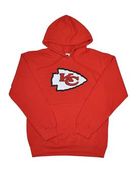 Kansas City Chiefs Majestic Red Heat Seal Fleece Hoodie (Adult S)