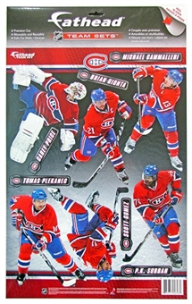 Fathead Montreal Canadiens 2011-2012 Team Set (Lot of 10) (Price, Subban)