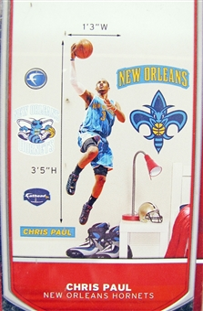Fathead Chris Paul New Orleans Hornets Fathead Junior Wall Graphic