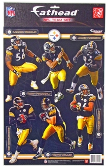 Fathead Pittsburgh Steelers 2011 Team Set (Roethlisberger, Ward, Polamalu)