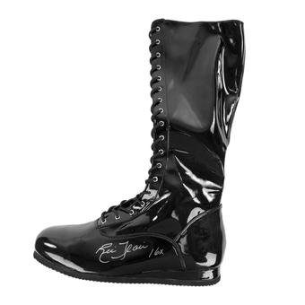 Ric Flair Autographed Black Wrestling Boot