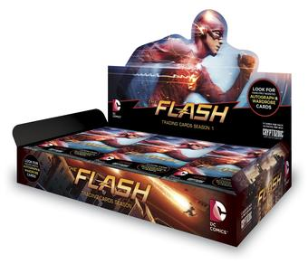 The Flash Season 1 Trading Cards Box (Cryptozoic 2016) (Presell)