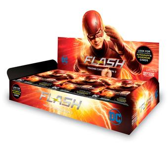 The Flash Season 2 Trading Cards Box (Cryptozoic 2017)