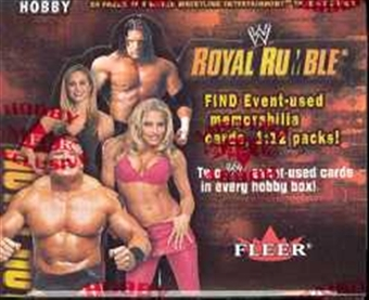 2002 Fleer WWF WWE Royal Rumble Wrestling Hobby Box