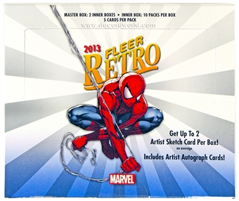 Marvel Fleer Retro Trading Cards Hobby Box (Upper Deck 2013)