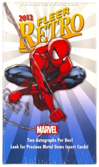 Marvel Fleer Retro Trading Cards Hobby Mini-Box (Upper Deck 2013)