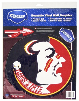 "Fathead Florida State Seminoles Teammate Set Wall Graphic 11"" x 10"" (Lot of 10)"